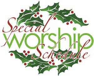 special-worship-schedule