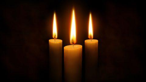 interfaith vigil candles